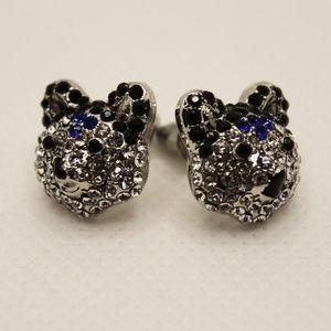 Jewelry - Sterling Silver Bear Stud Earrings BNWOT